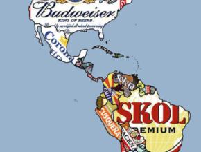 O mapa-múndi da cerveja? Confira