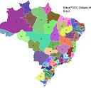 Códigos de Área DDDs do Brasil em Powerpoint