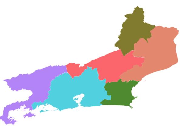 Mesorregiões RJ