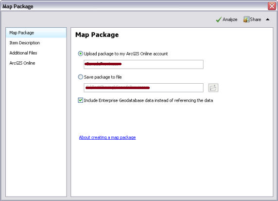 Map Packages no ArcGIS for Desktop