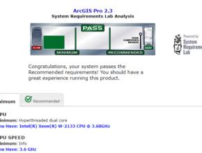 Saiba se seu computador pode rodar o ArcGIS Pro