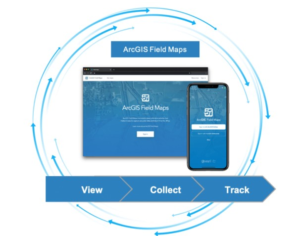 ArcGIS FieldMaps aplicativo