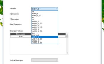 Converter dados científicos em formato NetCDF para Raster