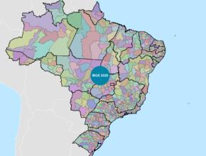 IBGE atualiza malha municipal e intermediária Brasileira. Baixe agora