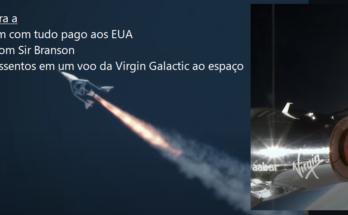 Concorra a dois assentos em um voo da Virgin Galactic ao espaço